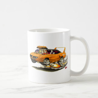 1970 Superbird Orange Car Coffee Mug