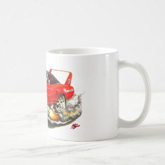 1970 Superbird Red Car Classic White Coffee Mug