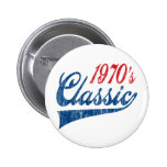 1970's Classic Birthday Buttons