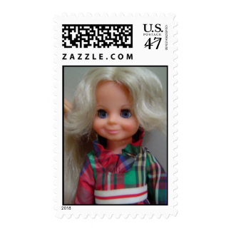 1970's Doll Postage Stamp