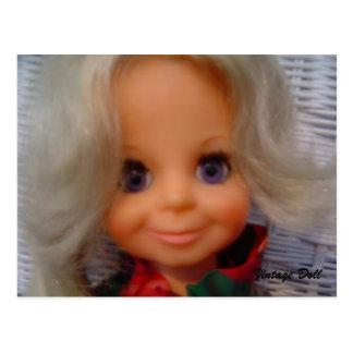 1970's Doll - postcard