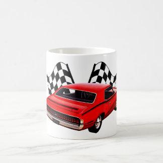 1970s Fast Cat Coffee Mug