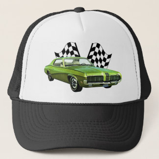 1970s Fast Cat V2 Trucker Hat