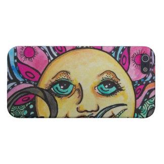 """1970s """"Flower Power"""" """"Flower Child"""" Hippy Art Case For iPhone 5/5S"""