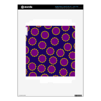 1970s Flower Power Retro Hippy Print iPad 3 Skin