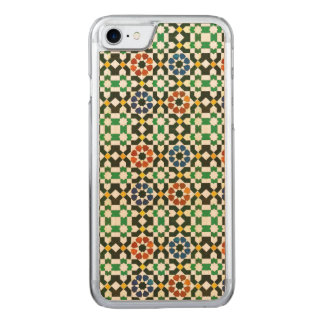 1970s Moroccan Color Pattern Carved iPhone 8/7 Case