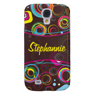 1970's Retro Circle Colorful iPhone 3 Speck Case