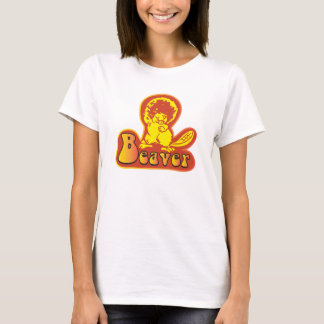 1970's Vintage Beaver Disco Shirt