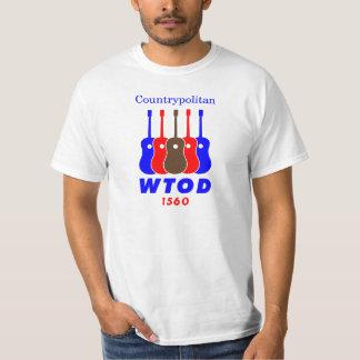 1970's WTOD 1560 AM Countrypolitan Radio T-Shirt