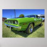 1971 340' Cuda en HDR Póster