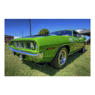 1971 340 'Cuda in HDR Poster