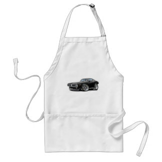 1971-72 Charger Black Chrome Bumper Car Adult Apron