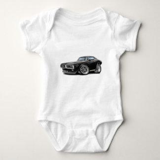 1971-72 Charger Black Chrome Bumper Car Baby Bodysuit