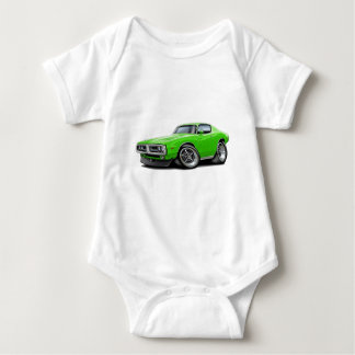 1971-72 Charger Lime Chrome Bumper Baby Bodysuit