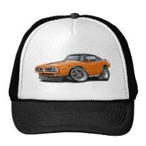 1971-72 Charger Orange-Black Top Car Trucker Hat