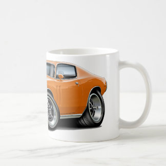 1971-72 Charger Orange Car Coffee Mug