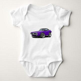 1971-72 Charger Purple-Black Top Chrome Bumper