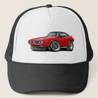 1971-72 Charger Red-Black Top Car Trucker Hat
