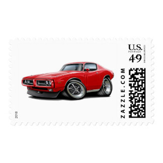 1971-72 Charger Red Car Postage