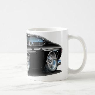 1971-72 Chevelle Black Car Classic White Coffee Mug