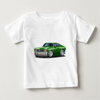 1971-72 Chevelle Green Car Baby T-Shirt