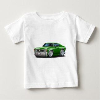 1971-72 Chevelle Green Car Baby T-Shirt