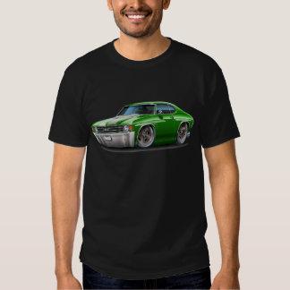 1971-72 Chevelle Green-White Car T-Shirt