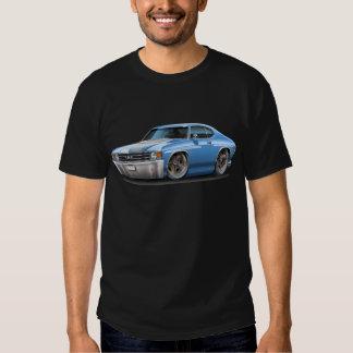 1971-72 Chevelle Lt Blue-White Car Shirt
