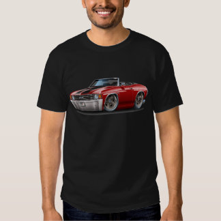 1971-72 Chevelle Maroon-Black Convertible T-Shirt