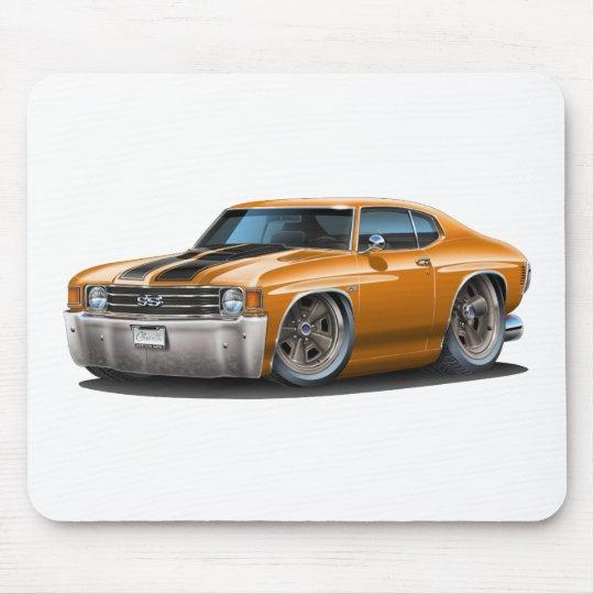1971-72 Chevelle Orange-Black Car Mouse Pad