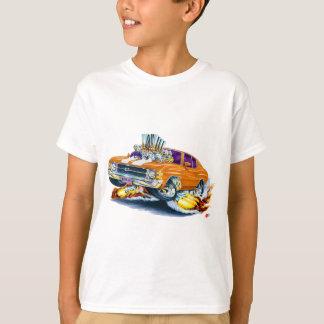 1971-72 Chevelle Orange-White Car T-Shirt