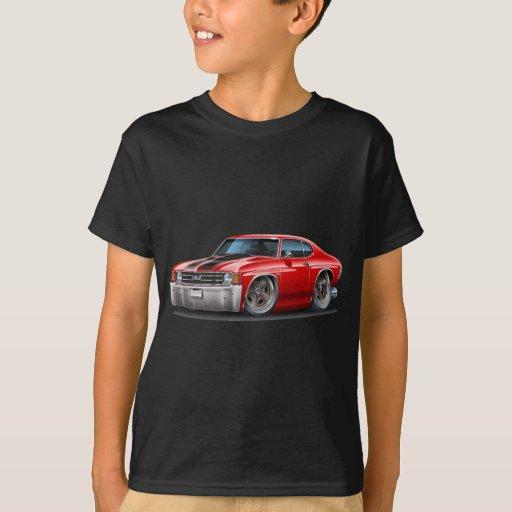 1971-72 Chevelle Red-Black Car T-Shirt