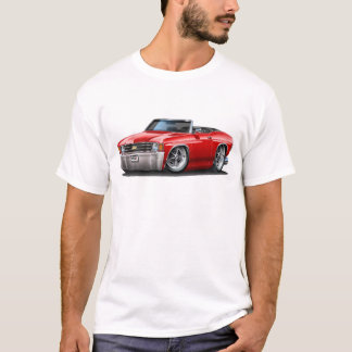 1971-72 Chevelle Red Convertible T-Shirt