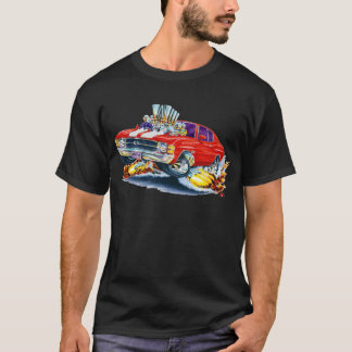 1971-72 Chevelle Red-White Car T-Shirt