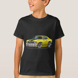 1971-72 Chevelle Yellow-Black Car T-Shirt