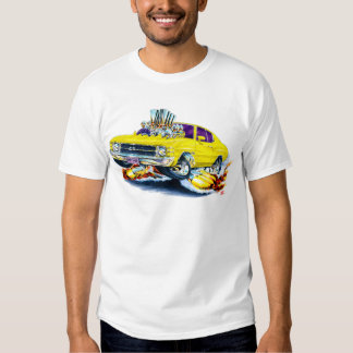 1971-72 Chevelle Yellow Car T-Shirt