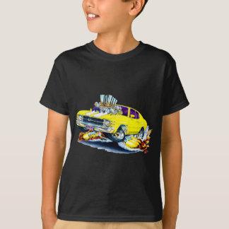 1971-72 Chevelle Yellow-White Car T-Shirt