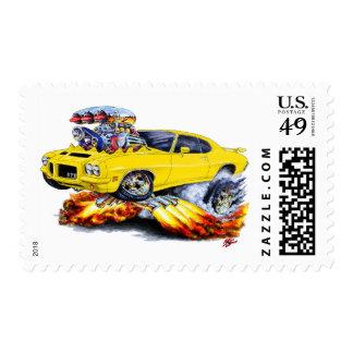 1971-72 coche amarillo de GTO Franqueo