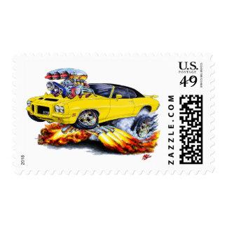 1971-72 coche Amarillo-Negro de GTO Sellos