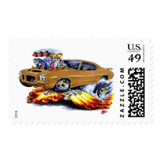 1971-72 coche de GTO Brown Sellos