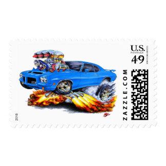 1971-72 coche del azul de GTO Franqueo