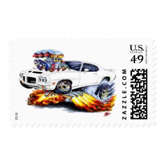 1971-72 coche del blanco de GTO Sellos