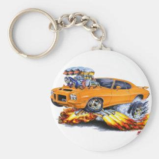 1971-72 coche del naranja de GTO Llaveros Personalizados