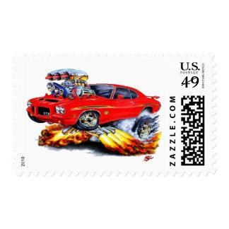 1971-72 coche del rojo del juez de GTO Franqueo