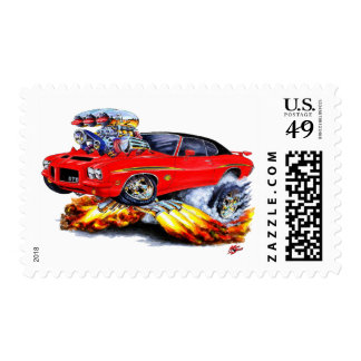 1971-72 coche Rojo-Negro del juez de GTO Sello Postal