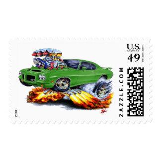 1971-72 coche verde de GTO Sellos