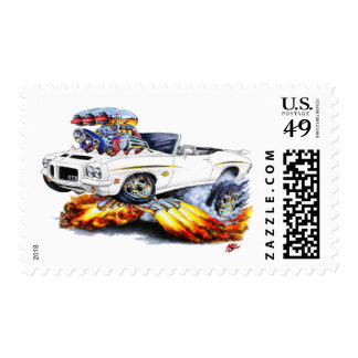 1971-72 convertible blanco del juez de GTO Timbres Postales