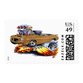 1971-72 convertible de GTO Brown Sellos Postales
