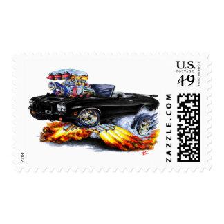 1971-72 convertible negro de GTO Sello Postal