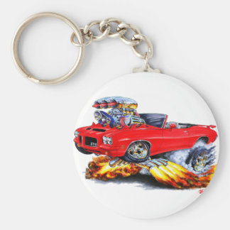 1971-72 convertible rojo de GTO Llaveros